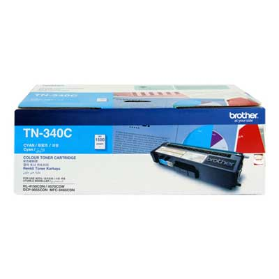 Mực in Brother TN 340C Cyan Toner Cardtidge (TN-340C)