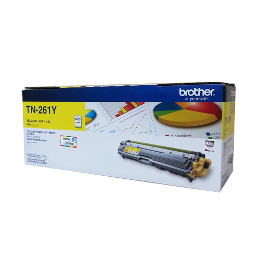Mực in Brother TN 261 Yellow Toner Cartridge (TN-261Y)