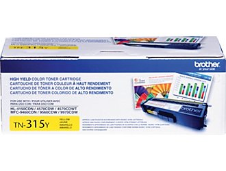 Mực in Brother TN-351 Yellow Toner Cartridge (TN-351Y)