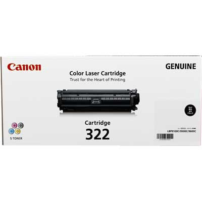 Mực in Canon 322 Black Laser Cartridge