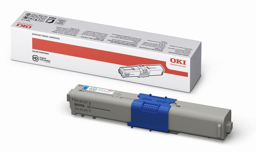 Mực in OKI C310 Cyan Toner Cartridge
