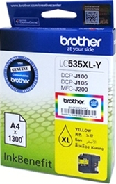 Mực in Brother LC-535XL Yellow Ink Cartridge (LC-535Y)