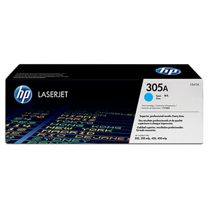 Mực in HP 305A Cyan LaserJet Toner Cartridge (CE411A)