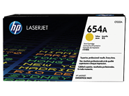 Mực in Laser màu vàng HP 654A Yellow Original LaserJet Toner Cartridge (CF332A)